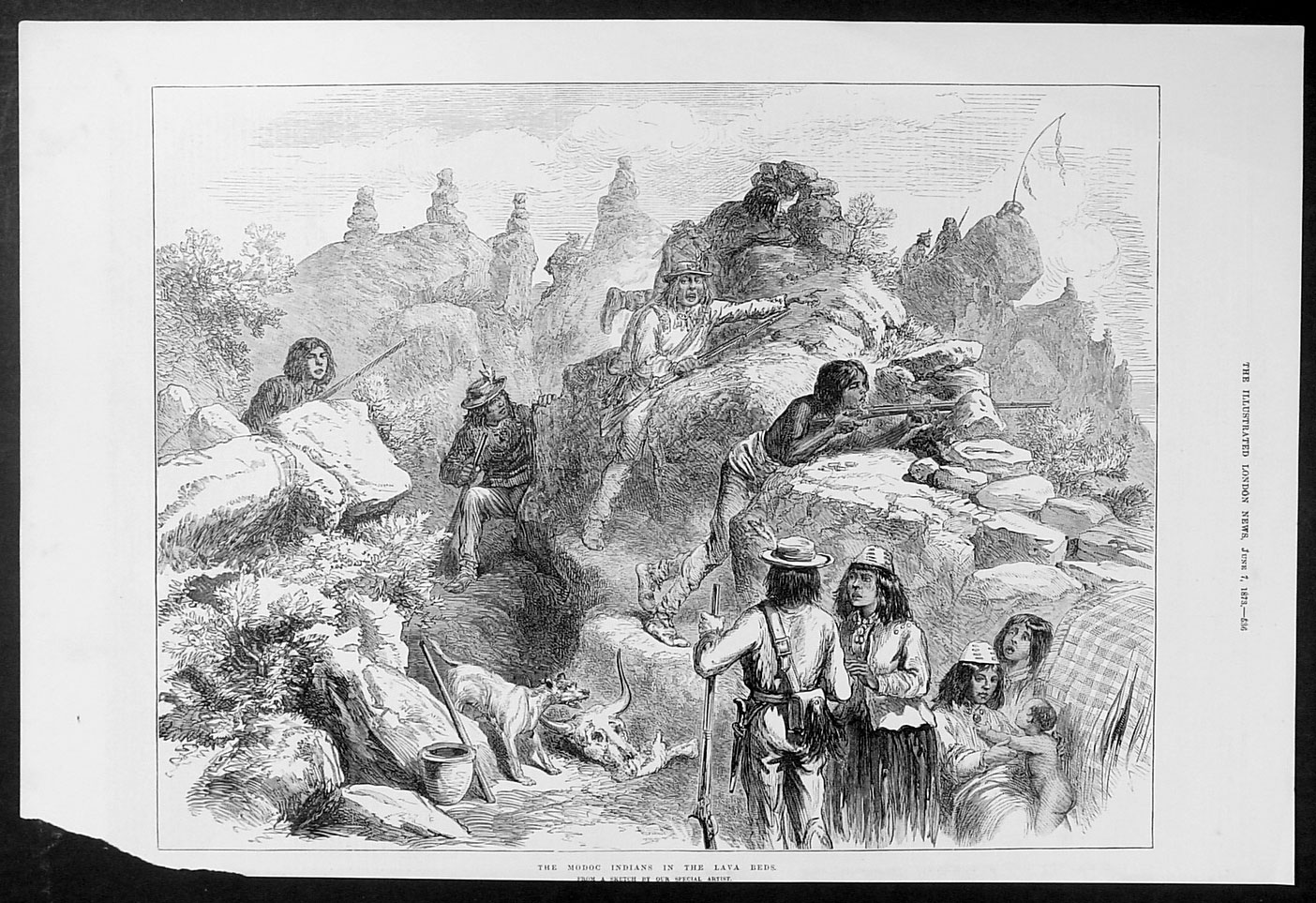 modoc indians The role of modoc war in the history of the united states of america.