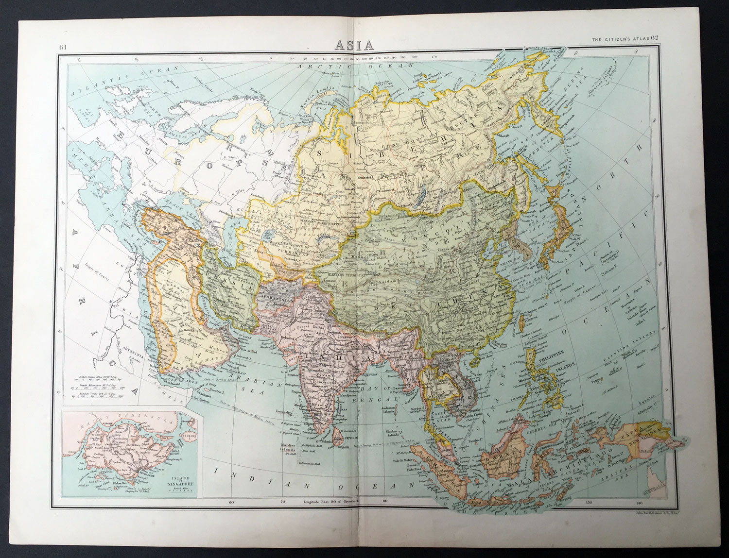 Consider, that Vintage maps singapore are not